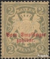 Bavière P13x (complète.Edition.) Avec Charnière 1895 Etat Emblem - Beieren