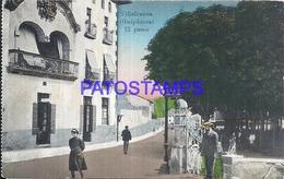109503 SPAIN ESPAÑA VILLAFRANCA GUIPUZCOA PAIS VASCO EL PASEO POSTAL POSTCARD - Sin Clasificación