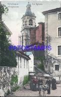 109504 SPAIN ESPAÑA VILLAFRANCA GUIPUZCOA PAIS VASCO LA IGLESIA CHURCH POSTAL POSTCARD - España