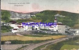 109506 SPAIN ESPAÑA VILLAFRANCA GUIPUZCOA PAIS VASCO VISTA GENERAL AÑO 1860 POSTAL POSTCARD - España
