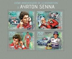 Central Africa 2014  Ayrton Senna  , Brazilian Racing Driver, Formula 1 - Central African Republic