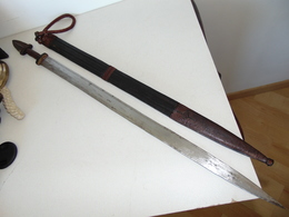 épée Courte Africaine Toubou - Tchad - N°2 - Arte Africano