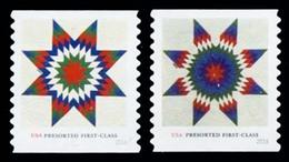 Etats-Unis / United States (Scott No.5098-99  - Star Quilts) (o) Mint NG - Oblitérés