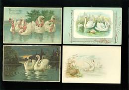 Beau Lot De 20 Cartes Postales De Fantaisie  Cygne  Cygnes   Mooi Lot Van 20 Postkaarten Van Fantasie  Zwaan  Zwanen - 5 - 99 Cartes