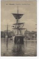 13 - MARSEILLE - Vieux Port, Trois-Mâts à L'ancre  (X178) - Vieux Port, Saint Victor, Le Panier
