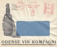 Dänemark: 1939: Freistempel Odense: Werbung Wein - Dänemark