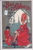 SIGNY-L ABBAYE- CARTE-PUB- LES BAS DE L ABBAYE- RECTO/VERSO- ETAT- RARE - France