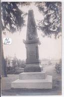 BRUNOY- CARTE-PHOTO- LE MONUMENT AUX MORTS - Brunoy