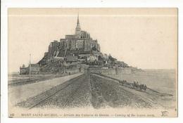 CPA, D. 50, N°168,  Le Mont Saint-Michel, Arrivée Des Voitures De Genèts Ed. ND. Phot. - Le Mont Saint Michel