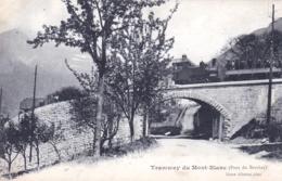 74  - Haute Savoie -  Tramway Du MONT BLANC ( Saint Gervais - Bionnassay  ) - Pont Du Berchat - Saint-Gervais-les-Bains