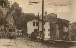 280319B - 06 GILETTE La Gare Du Tram - Chemin De Fer Tramway - Autres Communes