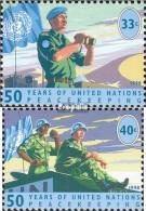 UNO - New York 785-786 (kompl.Ausg.) Postfrisch 1998 Friedenssicherung - Neufs