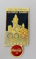 Pin's JO Londres London 1948 COCA COLA JEUX OLYMPIQUES - Jeux Olympiques