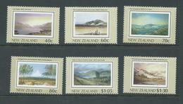 New Zealand 1988 Heritage Series # 1 The Land Set 6 MNH - Nueva Zelanda