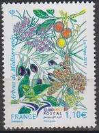 2017-N°5164 ** EURO MED POSTAL.ARBRES DE LA MEDITERRANEE - France