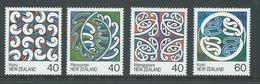 New Zealand 1988 Maori Paintings Set 4 MNH , 1 X 40 C With Some Lightly Toned Perf Tips - Nueva Zelanda