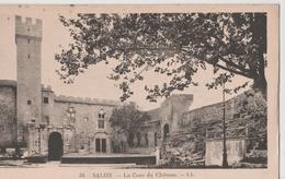 SALON DE PROVENCE  - LA COUR DU CHATEAU - Salon De Provence