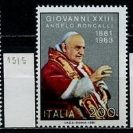 Italie - Italy - Italien 1981 Y&T N°1515 - Michel N°1783 *** - 200l Pape Jean XXIII - 6. 1946-.. Republik