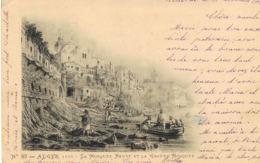 Alger-La Mosquée Neuve Et La Grande Mosquée 1902 - CPA A.VOLLENWEIDER Photograveur N° 82   - Paypal Sans Frais - Alger