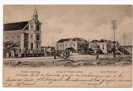 CURACAO  TEMPLE EMMANUEL  LOGIA DE VERGENOAGING - Curaçao