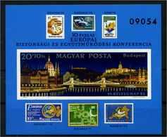 UNGARN 1982 Bl.159B Postfrisch (114292) - Ungarn