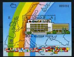 UNGARN 1983 Bl.160B Postfrisch (114295) - Ungarn