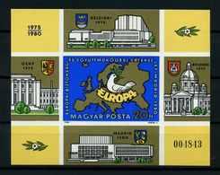UNGARN 1980 Bl.147B Postfrisch (114311) - Ungarn