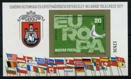 UNGARN 1977 Bl.126B Postfrisch (114337) - Ungarn