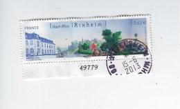 Série Touristique Rixheim 4744 Oblitéré - France