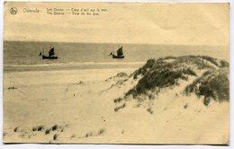 CPA - Carte Postale - Belgique - Ostende - Les Dunes - Coup D'oeil Sur La Mer (M7949) - Oostende