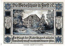 Billet De Nécessité Allemand De 10 Pfennig 1921 - - 1918-1933: Weimarer Republik