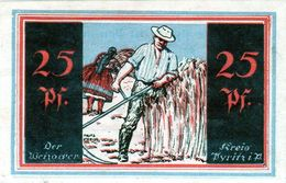 Billet De Nécessité Allemand De 25 Pfennig 1 Février 1921 - - [ 3] 1918-1933: Weimarrepubliek