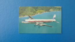 DC - 7C SUPER COURIER  JAPAN AIR LINES - 1946-....: Ere Moderne