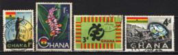 GHANA - 1959 - IMMAGINI DEL GHANA - USATI - Ghana (1957-...)