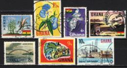 GHANA - 1967 - IMMAGINI DEL GHANA - USATI - Ghana (1957-...)