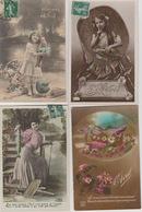 """19 / 3 / 497  - LOT  DE. 10 CP  """" 1er  Avril """" - Toutes Scandés - 5 - 99 Postkaarten"""