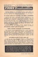 "WWII WW2 Leaflet Flugblatt Tract Soviet Propaganda Against Germany ""Frontnachrichten"" April 1942 Nr. 141 CODE 1111 - 1939-45"