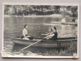 3 X Woluwe-Saint-Pierre Parc De Woluwe ETANG Canotage 1944 - PONT Chemin De Fer Avenue De Tervuren Vu De La Cascade - St-Pieters-Woluwe - Woluwe-St-Pierre