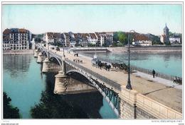 BASEL:  JOHANNITERBRUCKE  MIT  GROSSBASEL  -  KLEINFORMAT - Ponts