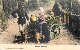 Laitière Flamande - Edit. E.G. Série 2 N° 61 - Belgique