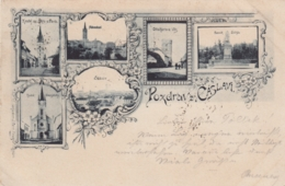 AK - Tschechien  -  Gruss Aus CASLAV (Tschaslau) 1897 - Tschechische Republik