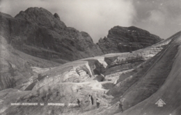 AK - OÖ - Gosau - Bergsteiger Am Gletscher - Mit Dachstein - 1932 - Gmunden