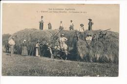 Carte De TINCRY Par DELME La Fenaison De 1923  La Lorraine Agricole - Altri Comuni