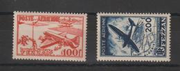 Fezzan Paire PA 4-5 2 Val. * Charnière - Fezzan (1943-1951)