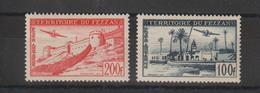 Fezzan Paire PA 6-7 2 Val. * Charnière - Fezzan (1943-1951)
