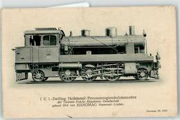 52950663 - 1 C 1 Zwilling Heissdampf-Personenzugtenderlokomotive - Trains