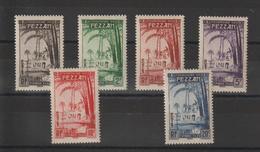 Fezzan Série Taxe 6-11 6 Val. * Charnière - Fezzan (1943-1951)