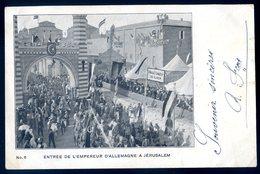 Cpa De La Palestine Entrée De L' Empereur à Jérusalem    ACH16 - Palestine