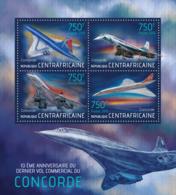 Central Africa 2013 Concorde ,airplane - Centrafricaine (République)
