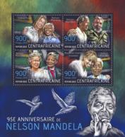 Central Africa 2013 Nelson Mandela , Fidel Castro, Queen Elizabeth II - Central African Republic